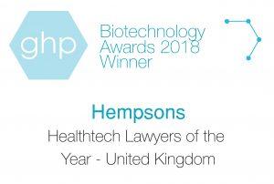 Biotechnology Awards 2018 Winner